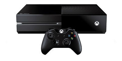 Microsoft Xbox One (Latest Model)- with  500 GB Black Console