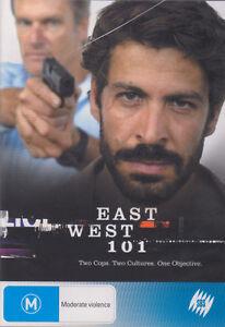 C16 BRAND NEW SEALED East West 101 : Season 1 (DVD, 2008, 2-Disc Set)
