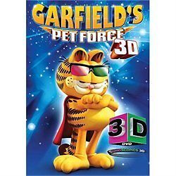Garfields-Pet-Force-3D-DVD-2010-3D-NEW-SEALED-with-3D-GLASSES