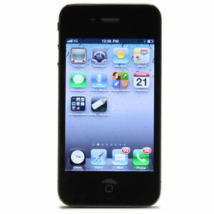 Apple  iPhone 4 - 8GB - Black Smartphone