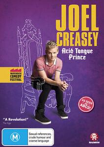 Joel Creasey - Acid Tongue Prince - Warehouse Comedy Festival (DVD, 2012) New