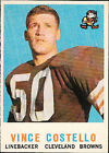 Cleveland Browns Football Trading Cards