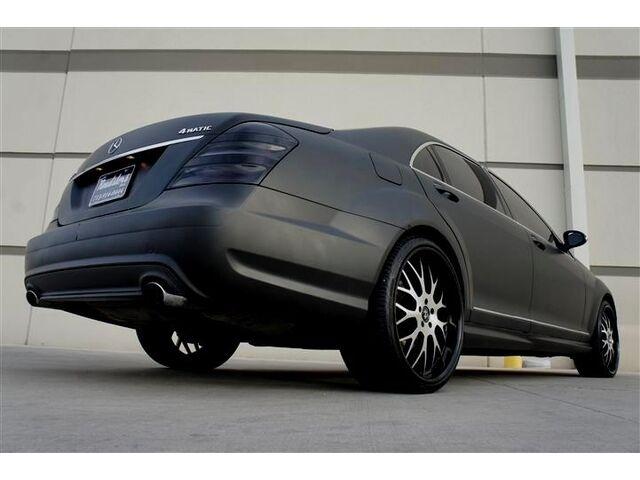 Custom Matte Black Mercedes S550 4MATIC Fully Loaded Designer Wheel One of Akind