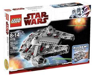 millennium falcon lego  LEGO Star Wars Midi-scale Millennium Falcon (7778)