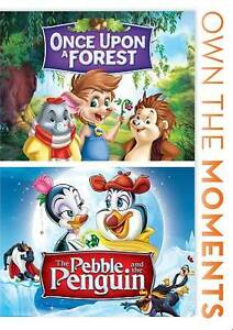 Once Upon a Forest/The Pebble and the Penguin (DVD, 2012, 2-Disc Set)