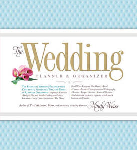 Image Is Loading The Wedding Planner Amp Organizer By Mindy Weiss