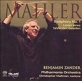 Mahler-Symphony-No-1-Lieder-eines-fahrenden-Gesellen-B-ZANDER-2-CD-Telarc
