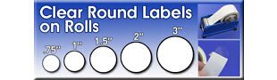 Clear Round Labels and More