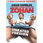 You Don't Mess With The Zohan (DVD, 2008, Unrated Single Disc Version)
