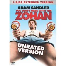You Don't Mess With The Zohan (DVD, 2008, Unrated Single Disc Version) * NEW *
