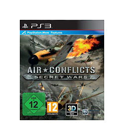 New Air Conflicts: Secret Wars PS3 Video Game
