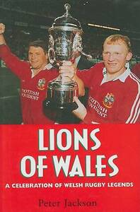 Lions of Wales by Peter Jackson (Hardback, 1998)