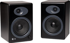 Audioengine-A5-Premium-Powered-Bookshelf-Speakers-Black