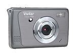 Vivitar ViviCam X025 10.0 MP Digital Camera - Graphite gray
