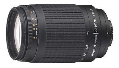Nikon AF Zoom Nikkor 70-300mm f/4-5.6G Lens-Brand New In A Box