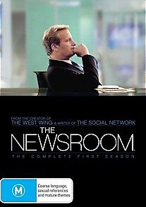 Newsroom-Season-1-4-Disc-New-Sealed-Region-4-DVD-news-room