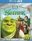 Shrek (Blu-ray/DVD, 2011, 2-Disc Set, 3D)