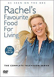 Rachel's Favourite Food For Living (DVD, 2008, 3-Disc Set)