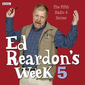 ED REARDON'S WEEK 5 -  3 CD AUDIO BOOK - NEW - UNSEALED - FIFTH RADIO 4 SERIES