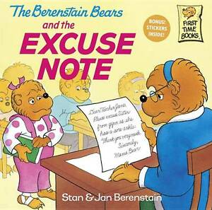 The-Berenstain-Bears-and-the-Excuse-Note-by-Jan-Berenstein-Stan-Berenstein