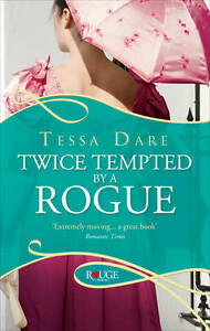 Twice Tempted by a Rogue by Tessa Dare (Paperback)