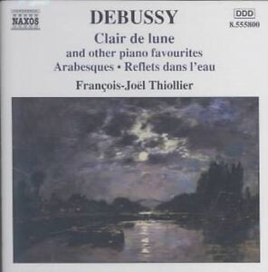Claude Debussy - Debussy: Clair de lune & Other Piano Favourites (2004)
