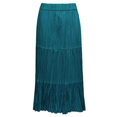 The Petite Woman's Guide to Buying a Long Skirt