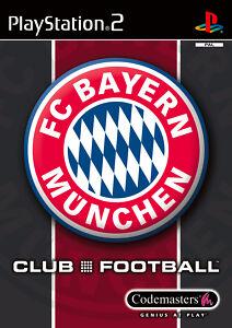 Play Station 2 Spiel PS2 Club Football - FC Bayern München mit Anleitung