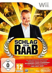 Wii Spiel Schlag den Raab (Nintendo Wii, 2010, DVD-Box) deutsch - <span itemprop='availableAtOrFrom'>Ostfildern, Deutschland</span> - Wii Spiel Schlag den Raab (Nintendo Wii, 2010, DVD-Box) deutsch - Ostfildern, Deutschland