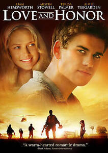 BRAND NEW Love And Honor DVD, 2012 Liam Hemsworth, Austin Stowell SEALED  - $6.95