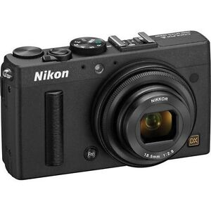 Nikon COOLPIX A 16.2MP Digital Camera - Black