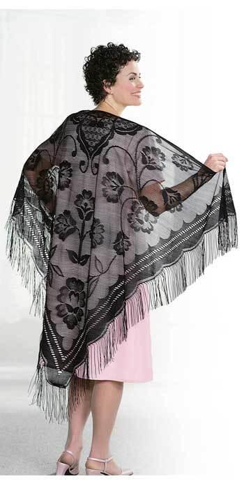 Vintage Lace Shawls