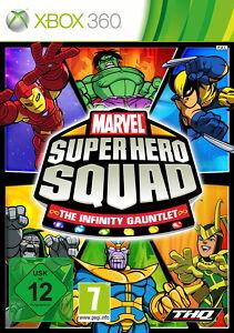Marvel Super Hero Squad: The Infinity Gauntlet (Xbox 360) NEU & OVP