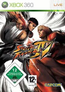Street Fighter IV (Microsoft Xbox 360, 2009, DVD-Box)