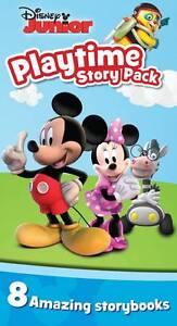 Disney Junior Playtime Story Pack with 8 Mini Books, Disney | Paperback Book | G