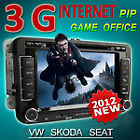 3G INTERNET Car DVD GPS sat nat Navigation System RDS PIP IPOD For SKODA OCTAVIA