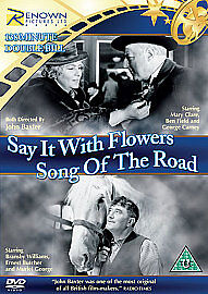 SAY IT WITH FLOWERS AND SONG OF THE ROD - DVD - REGION 2 UK