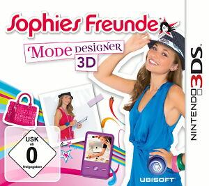 Sophies Freunde: Mode-Designer 3D (Nintendo 3DS, 2011)