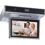 Venturer-10-Inch-Under-Cabinet-Kitchen-LCD-TV-DVD-Combo-AM-FM-w-Remote