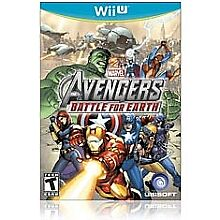 WiiU-game-AVENGERS-BATTLE-FOR-EARTH-rated-TEEN-lightly-used-has-book
