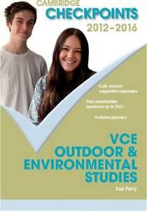 Cambridge Checkpoints VCE Outdoor and Environmental Stu