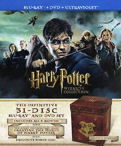 Купить Harry Potter Wizards Collection (Blu-rayDVD, 2012, 31-Disc Set,  с доставкой