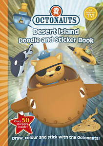 Desert Island Doodle and Sticker Book by Simon & Schuster Ltd (Paperback, 2013)
