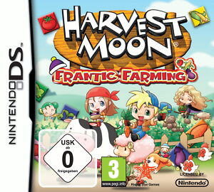 Game-Nintendo-DS-Harvest-Moon-Frantic-Farming-New-Sealed-DSi-DS-Lite-DS-XL-3DS