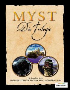 Myst - Die Trilogie (PC/Mac, 2002, DVD-Box)