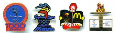 SYDNEY 2000 OLYMPICS PIN COLLECTIVE