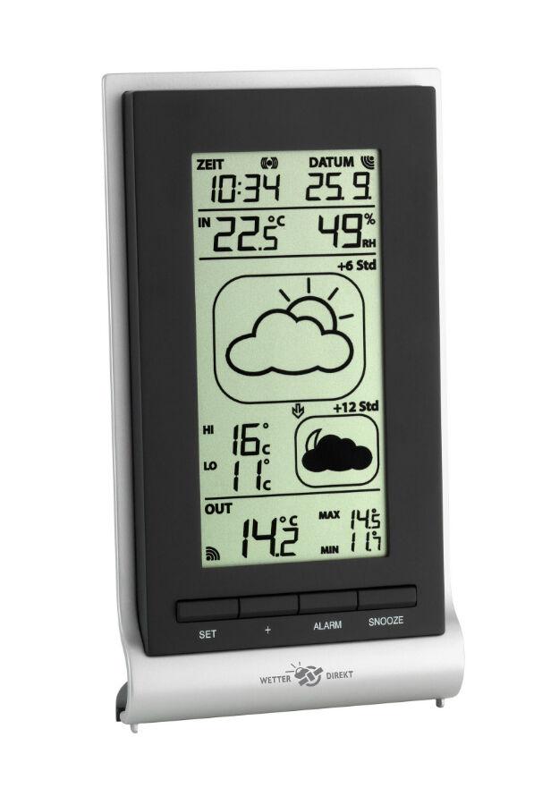 Funk-Wetterstation – so lesen Sie Außentemperaturen bequem im Haus ab