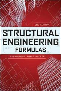 Structural Engineering Formulas, Second Edition, Mikhelson, Ilya