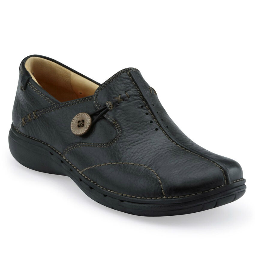Clarks Unstructured Un.Loop Flats