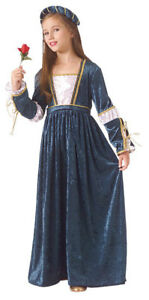 Juliet Princess Child Renaissance Costume Deluxe 67196